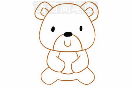 简笔画 动物简笔画 野生动物简笔画 >> 正文内容   小熊小知识:熊一般