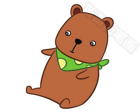 小熊简笔画怎么画 图片大全