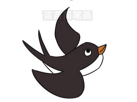 简笔画 动物简笔画 鸟类简笔画 >> 正文内容 燕子知识:燕子是我国