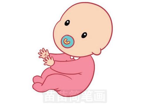 婴儿简笔画图片大全作品五