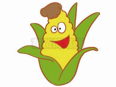 玉米简笔画图片大全作品二