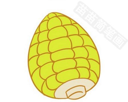 玉米简笔画图片大全作品四