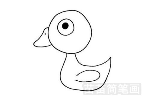 白鹅简笔画图片大全 教程