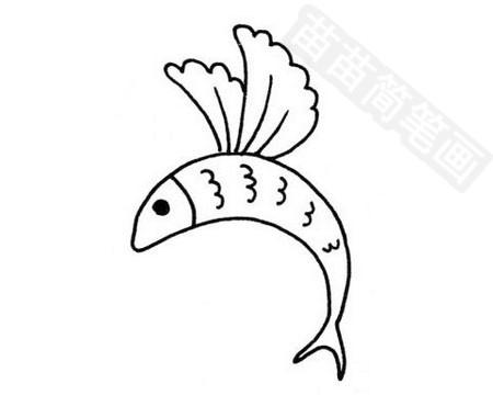 飞鱼简笔画图片大全 教程
