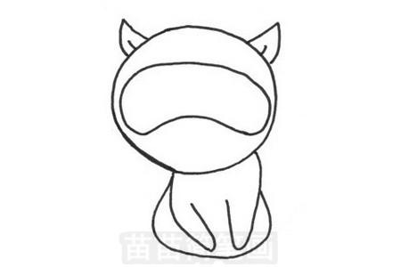 浣熊简笔画图片大全 画法