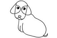腊肠犬简笔画图片大全、教程