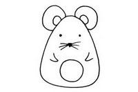 老鼠简笔画怎么画、图片大全