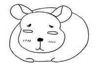 龙猫简笔画图片大全、画法