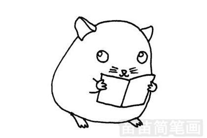 龙猫简笔画图片大全 教程