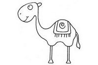 骆驼简笔画怎么画、图片大全