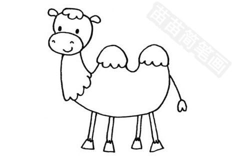 骆驼简笔画图片大全作品四