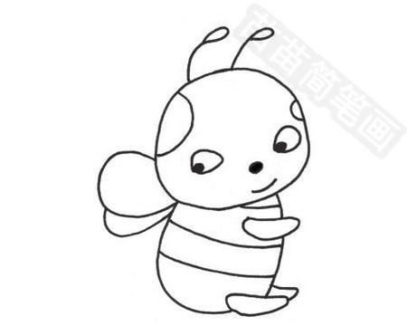 马蜂简笔画图片大全 教程