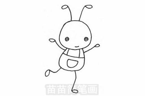 蚂蚁简笔画大图