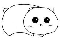 小花猫简笔画图片大全、教程