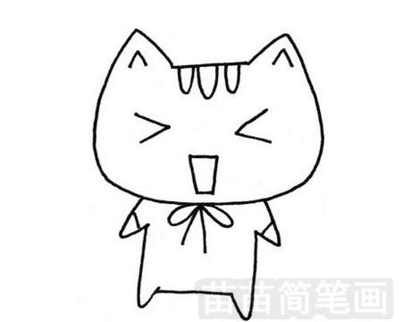 小花猫简笔画图片大全 教程