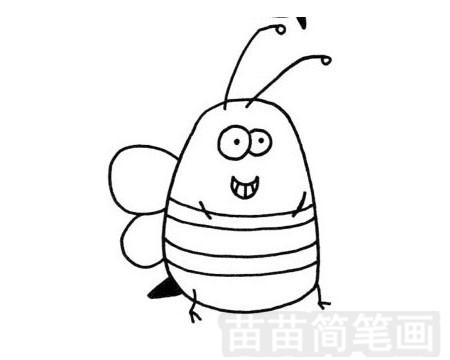 蜜蜂简笔画图片大全作品一