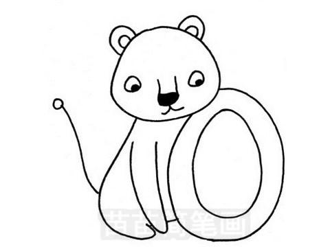 母狮简笔画图片大全 教程