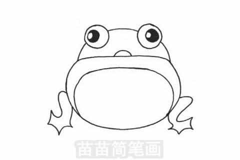 小青蛙简笔画图片大全 教程