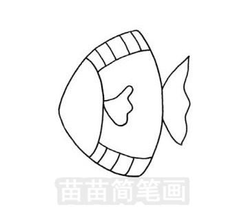 深海鱼简笔画图片大全 画法