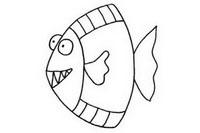 深海鱼简笔画图片大全、画法