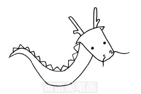 神话动物简笔画图片大全,教程