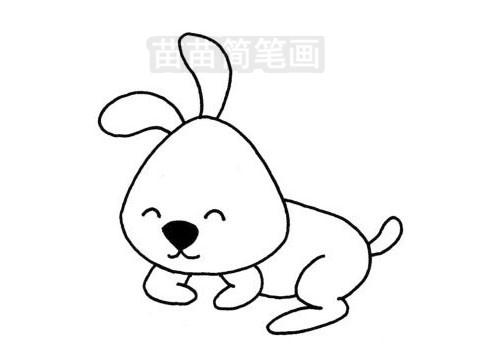 可爱兔子简笔画图片大全 教程