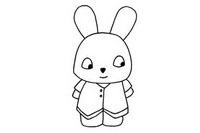 卡通小兔子简笔画图片大全、教程