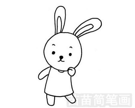 兔子简笔画图片大全作品一