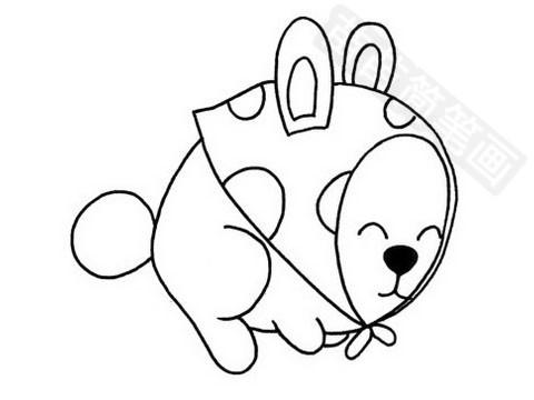 兔子简笔画图片大全作品四