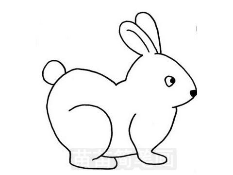 卡通小兔子简笔画图片大全 教程