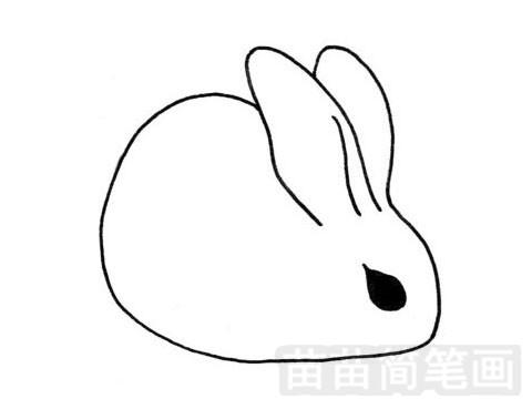 小兔子简笔画图片大全 教程