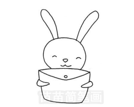 可爱小兔子简笔画图片大全 教程