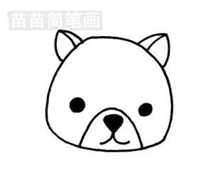 小熊猫简笔画图片大全 教程