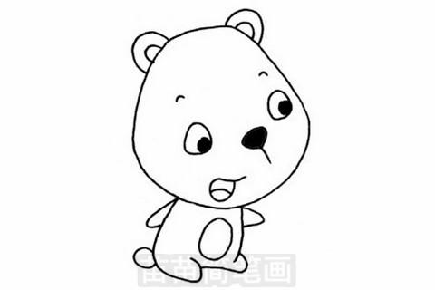 熊简笔画大图
