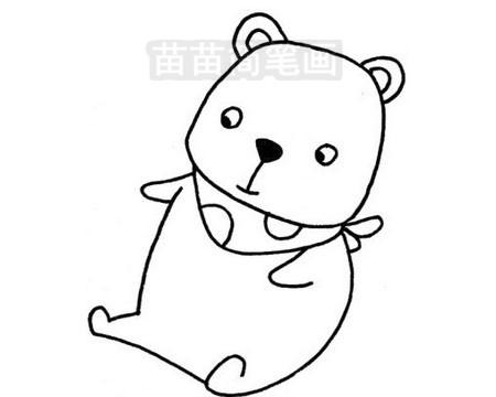 熊简笔画图片大全作品三