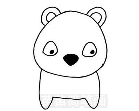 熊简笔画图片大全作品五