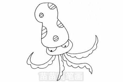 章鱼简笔画大图