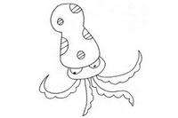 章鱼简笔画怎么画、图片大全