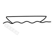 帆船简笔画图片步骤二