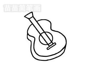 吉他简笔画图片大全 教程