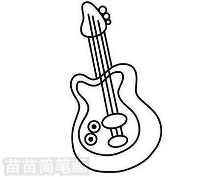 吉他简笔画图片大全作品二