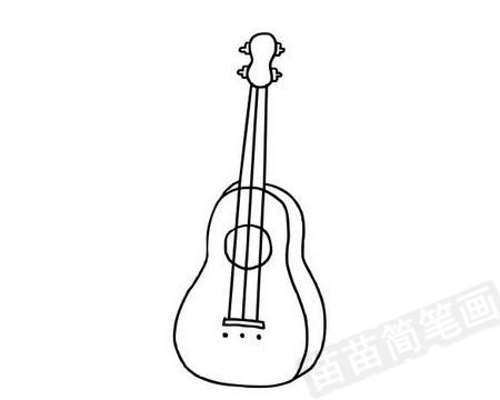 吉他简笔画图片大全作品四