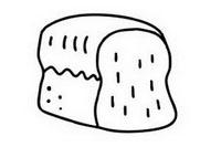 面包简笔画怎么画、图片大全