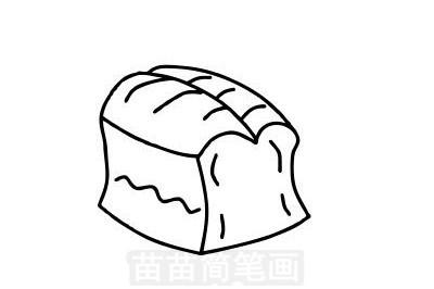 面包简笔画图片大全作品一