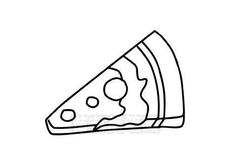 披萨简笔画图片大全作品三