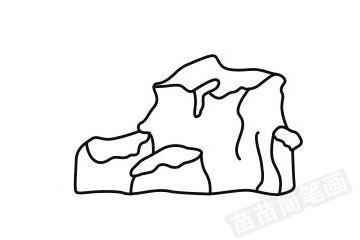 山峰简笔画图片大全作品四