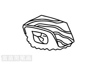寿司简笔画图片大全作品二