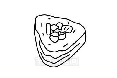 寿司简笔画图片大全作品三