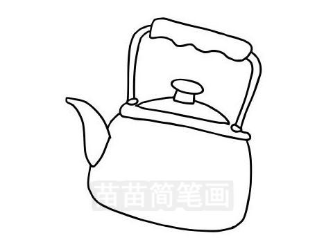 水壶简笔画图片大全作品三