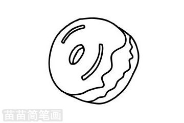 甜甜圈简笔画图片大全作品二